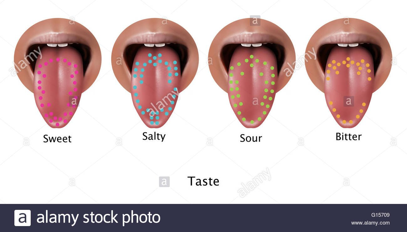 Why is it sour in the mouth